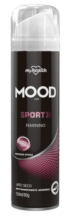 Antitranspirante Mood Care Feminino Sport
