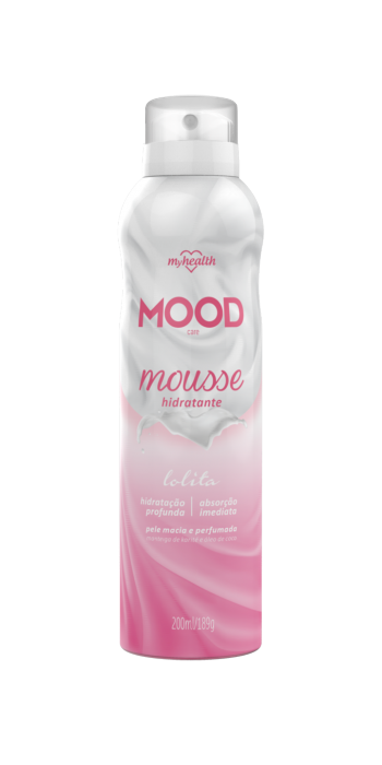 Mousse Hidratante Mood Care