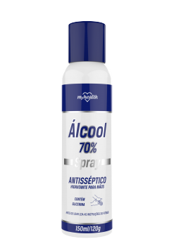 Álcool 70% Spray Antisséptico