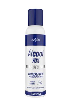 Álcool 70% Spray Antisséptico