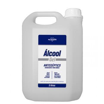 Álcool Gel 70% Antisséptico - 5 litros